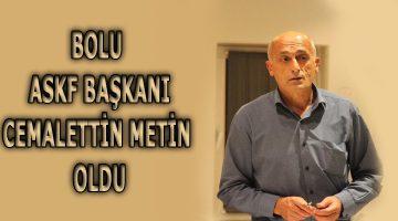 ASKF Genel Kurul Üyeleri Cemalettin Metin'i Başkan Yaptı