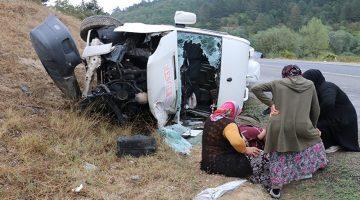 Mengen Gökçesu Yolunda Trafik Kazası