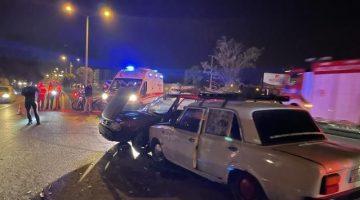 Garip Kaza….BMW Şahin'e, Murat 124 Şahin'e Çarptı