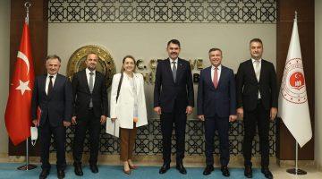 Ç.Şehircilik Bakanı Murat Kurum Ak Parti Heyeti İle Buluştu